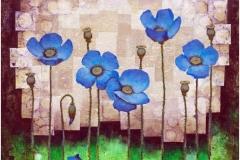 Sinie cveti 50x50 .
